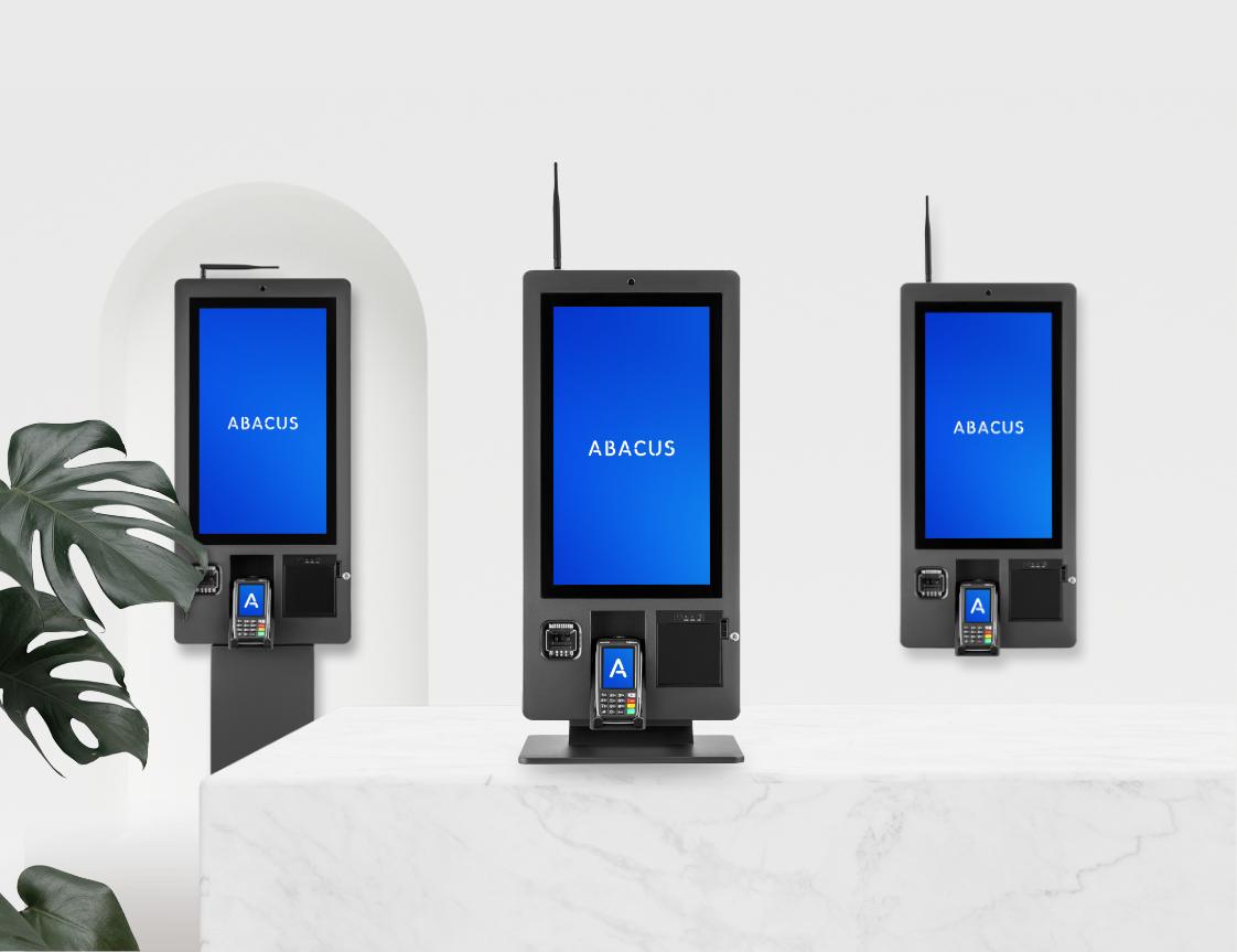 Self Ordering Kiosk - 3 types